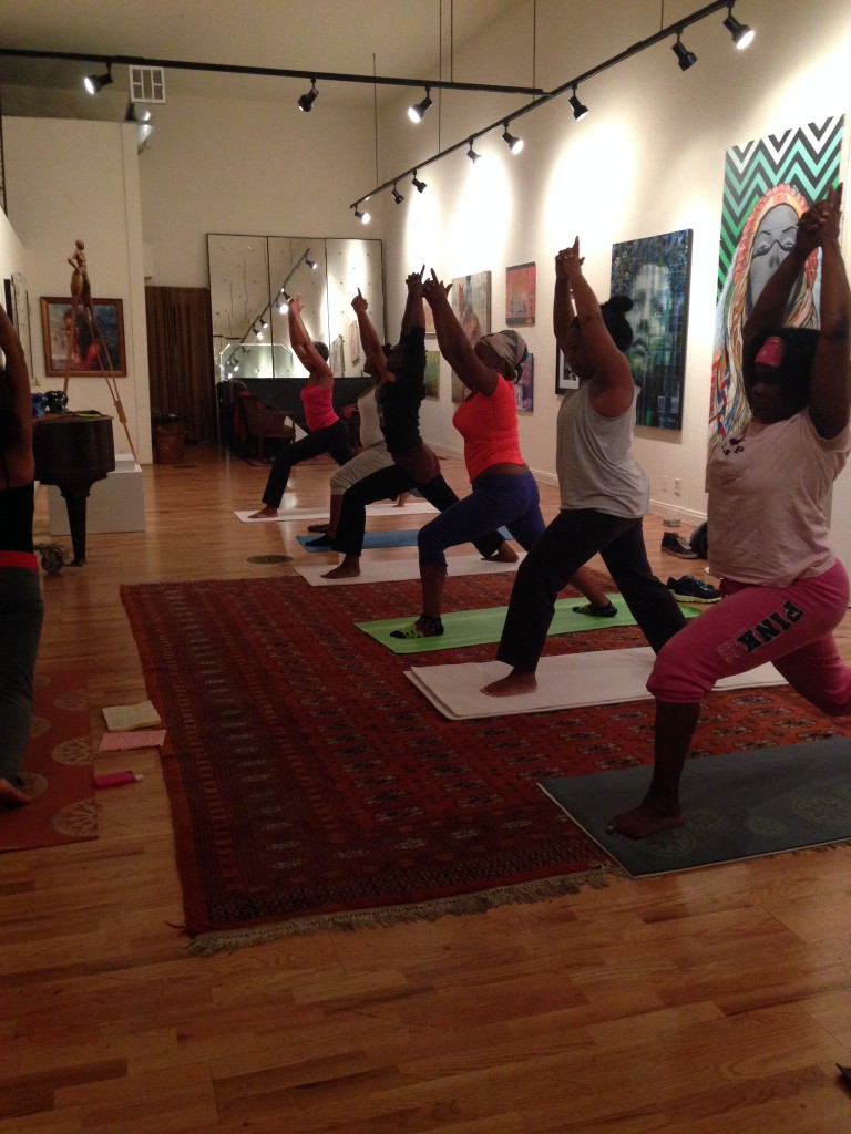 Yoga for All in action